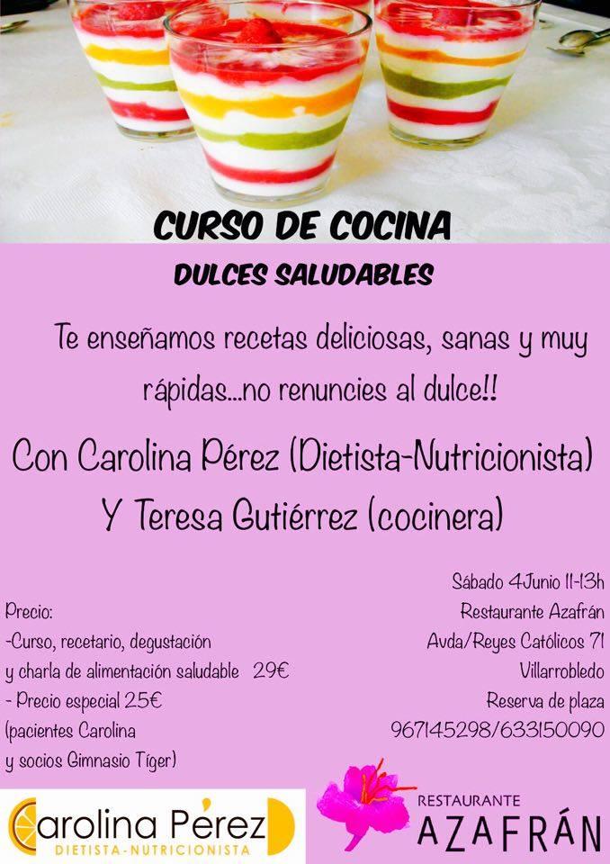Cursos de cocina junio 2016 azafr n restaurante - Clases de cocina meetic ...
